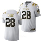 Camiseta NFL Limited New England Patriots James White Golden Edition 2020 Blanco
