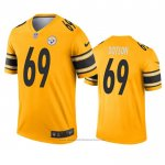 Camiseta NFL Legend Pittsburgh Steelers Kevin Dotson Inverted Oro