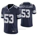 Camiseta NFL Limited Dallas Cowboys Justin March Lillard Azul Vapor Untouchable