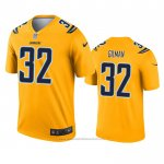 Camiseta NFL Legend Los Angeles Chargers Alohi Gilman Inverted Oro