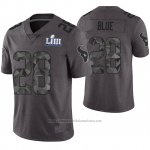 Camiseta NFL Limited Hombre Houston Texans Alfred Blue Gris Super Bowl LIII