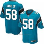 Camiseta Carolina Panthers Davis Sr Lago Nike Game NFL Azul Nino