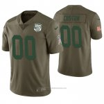 Camiseta NFL Limited Green Bay Packers Personalizada 100th Anniversary Salute To Service Verde