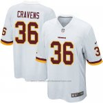 Camiseta Washington Redskins Cravens Blanco Nike Game NFL Nino