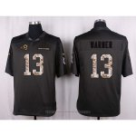 Camiseta Los Angles Rams Warner Apagado Gris Nike Anthracite Salute To Service NFL Hombre
