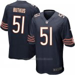 Camiseta Chicago Bears Butkus Blanco Negro Nike Game NFL Nino