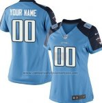 Camisetas NFL Mujer Hombre Tennessee Titans Personalizada Azul