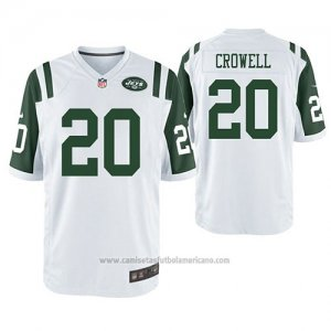 Camiseta NFL Game New York Jets Isaiah Crowell Blanco