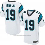 Camiseta Carolina Panthers Ginn Jr Blanco Nike Elite NFL Hombre