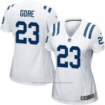 Camiseta Indianapolis Colts Gore Blanco Nike Game NFL Mujer