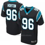 Camiseta Carolina Panthers Horton Negro Nike Elite NFL Hombre