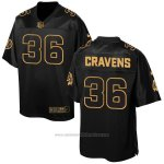 Camiseta Washington Redskins Cravens Negro 2016 Nike Elite Pro Line Gold NFL Hombre