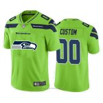 Camiseta NFL Limited Seattle Seahawks Personalizada Big Logo Verde
