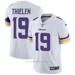 Camiseta NFL Limited Hombre 19 Thielen Minnesota Vikings Blanco