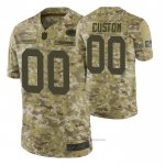 Camiseta NFL Limited Green Bay Packers Personalizada Salute To Service Verde