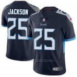 Camiseta NFL Limited Hombre Tennessee Titans 25 Adoree' Jackson Azul Alterno Stitched Vapor Untouchable