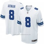 Camiseta Dallas Cowboys Aikman Blanco Nike Game NFL Nino
