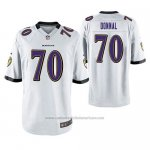 Camiseta NFL Game Baltimore Ravens Andrew Donnal Blanco