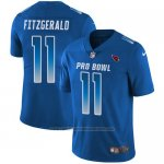 Camiseta NFL Limited Hombre Arizona Cardinals 11 Larry Fitzgerald Stitched NFC 2018 Pro Bowl