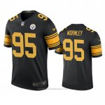 Camiseta NFL Legend Pittsburgh Steelers Chris Wormley Negro Color Rush
