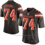 Camiseta Cleveland Browns Erving Marron Nike Game NFL Hombre