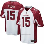 Camiseta Arizona Cardinals Floyd Blanco Rojo Nike Game NFL Hombre
