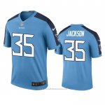 Camiseta NFL Legend Tennessee Titans Chris Jackson Azul Color Rush