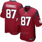 Camiseta Houston Texans Fiedorowicz Rojo Nike Game NFL Nino