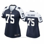 Camiseta NFL Game Mujer Dallas Cowboys Neville Gallimore Alterno Azul