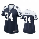 Camiseta NFL Game Mujer Dallas Cowboys Daryl Worley Alterno Azul