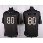 Camiseta Seattle Seahawks Largent Apagado Gris Nike Anthracite Salute To Service NFL Hombre