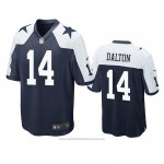 Camiseta NFL Game Dallas Cowboys Andy Dalton Alterno Azul