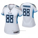 Camiseta NFL Game Mujer Tennessee Titans Keith Towbridge Blanco