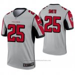 Camiseta NFL Legend Atlanta Falcons 25 Ito Smith Inverted Gris