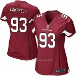 Camiseta Arizona Cardinals Campbell Rojo Nike Game NFL Mujer