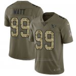 Camiseta NFL Limited Hombre Houston Texans 99 J.j. Watt Stitched 2017 Salute To Service