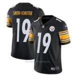 Camiseta NFL Limited Hombre 19 Smith-schuster Pittsburgh Steelers Negro Blanco