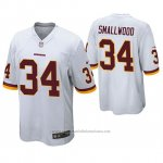 Camiseta NFL Game Washington Redskins Wendell Smallwood Blanco