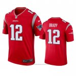 Camiseta NFL Legend New England Patriots Tom Brady Inverted Rojo