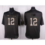 Camiseta Seattle Seahawks Fan Apagado Gris Nike Anthracite Salute To Service NFL Hombre