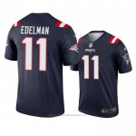 Camiseta NFL Legend New England Patriots Julian Edelman Navy 2020