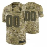 Camiseta NFL Limited Minnesota Vikings Personalizada Salute To Service Verde
