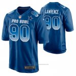 Camiseta NFL Limited Dallas Cowboys Demarcus Lawrence 2019 Pro Bowl Azul