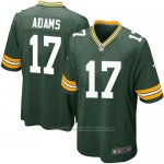 Camiseta Green Bay Packers Adams Verde Militar Nike Game NFL Nino