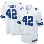 Camiseta Dallas Cowboys Church Blanco Nike Game NFL Nino
