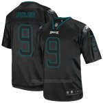 Camiseta NFL Elite Hombre Philadelphia Eagles 9 Nick Foles Negro