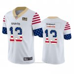 Camiseta NFL Limited New Orleans Saints Michael Thomas Independence Day Blanco