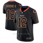 Camiseta NFL Limited Chicago Bears Allen Robinson Negro Color Rush 2018 Lights Out