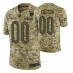Camiseta NFL Limited Chicago Bears Personalizada Salute To Service Verde