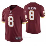 Camiseta NFL Limited Hombre Washington Redskins Josh Johnson Rojo Vapor Untouchable